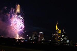 Feuerwerk in FFM am 04.08.08