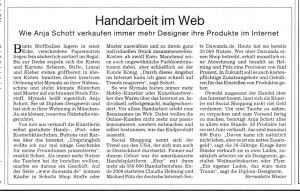 Maki in der Süddeutschen Zeitung vom 6.12.2007