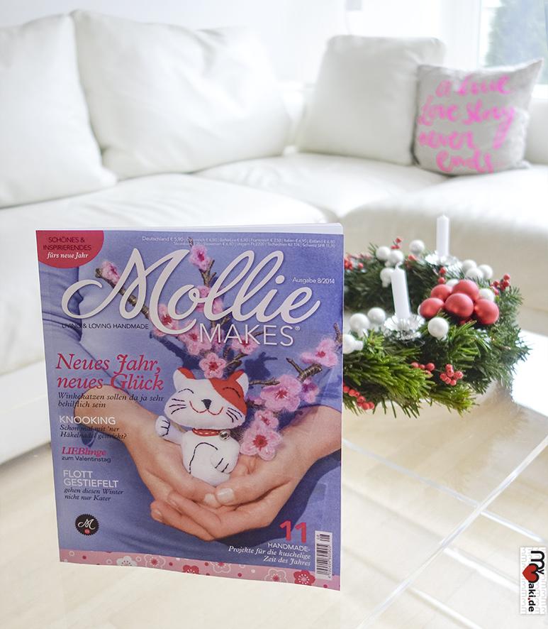 Deutsche Mollie Makes Ausgabe 08